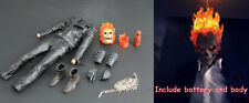 1/6 Ghost Rider Nicolas Cage figure LED light function Custom Hot toys IN STOCK