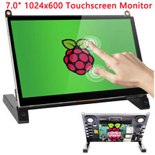 For Raspberry Pi 3 4 1024x600 7 Inch IPS Display Capacitive Touch Screen Monitor