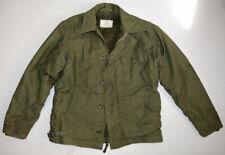 Vtg Vietnam War Era A-2 Permeable Deck Jacket M Us Navy Military