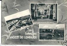 cm 106 1960 - S.ANGELO DEI LOMBARDI (Avellino) Tre vedute - viagg Ed. De Vito