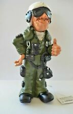 Air Force Jet Pilot Warren Stratford Collectible Figurine Statue