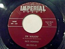 Fats Domino I'm Walkin' / I'm In The Mood For Love 45 1957 Imperial Vinyl Record