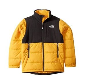 The North Face Balanced Rock Insulated Jacket - size Youth Large 14 /16 - Yellow