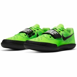NIKE ZOOM SD 4 SHOT PUT DISCUS THROWING SHOES SIZE 8-9 ELECTRIC GREEN 685135-300
