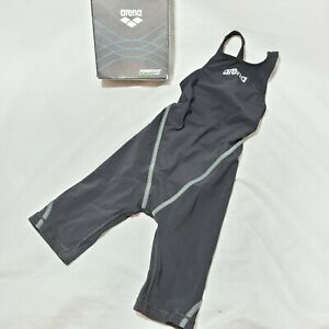 Arena Powerskin ST 2.0 Girl's Open Back Junior Youth Racing Swimsuit Size 22