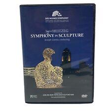 """Steve Heitzeg: Symphony in Sculpture"" DVD OOP 2012 Des Moines Symphony Iowa"