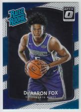 2017-18 Donruss Optic Sacramento Kings De'Aaron Fox Rated Rookie Base RC #196