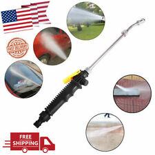 High Pressure Power Washer Water Spray Gun Nozzle Wand Attachment Garden Hose !!