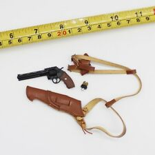 "1/6 Scale Revolver Gun Model W Holster Weapon Toy Fit 12"" Actioin  Figure"