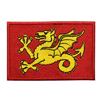 Wessex County Flag Patch Iron On Patch Sew On Embroidered Patch