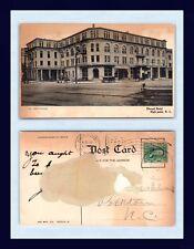 """North Carolina High Point Elwood Hotel Posted 1907 To """"Edwards"""" Of Polkton"""