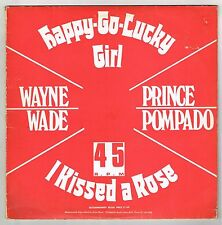 "WAYNE WADE & PRINCE POMPADO-happy go lucky girl   grove music 12"" (hear) yabby u"