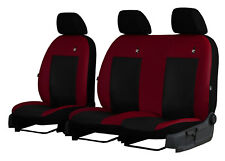 "CITROEN JUMPY VAN 2017 ONWARDS ECO LEATHER ""ROAD"" SEAT COVERS MADE TO MEASURE"