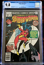 SPIDER-WOMAN #1 CGC 9.8 Marvel Comics 1978 New Origin Jessica Drew White Pages