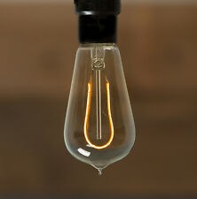 Led Edison Bulb - St18 - Hairpin Curved Filament - Vintage Style Repro - 2W -