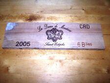 estampe facade chateau la dame de montrose 2005 wine front panel ohk owc ohk