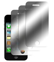 3 x Spiegelfolie Apple iPhone 4 4S Displayschutz Folie Mirror Screen Protector