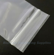 "100 Grip Seal Clear Resealable Poly Bags 6"" x 9"" GL11"