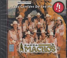 Banda Machos Los Corridos De Los Machos CD New Nuevo Sealed