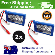 1000mAh 2S 20C 7.4v Turnigy Lipo Pack Battery RC Plane Helicopter Lithium 2 Pack