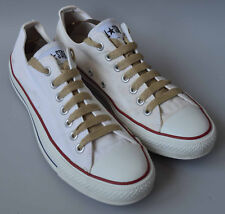 Unisex Converse All Star Cream / Off White Canvas Pumps Trainers UK 9.