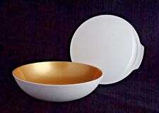 FREE SHIP Tupperware Chic Dining Medium 6 1/3 Cup/ 1.5 L Bowl w/Seal NEW Gold