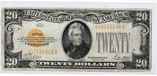 $20 1928 GOLD CERTIFICATE  SERIES 1928 FR:2402 Very Nice! Problem Free Note!