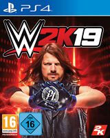 PS4 WWE 2K19 2019 Wrestling Catchen NEU&OVP Playstation 4