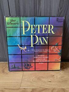 Vintage 1963 Disney's Peter Pan Soundtrack DQ-1206 Vinyl Record LP Album NEW
