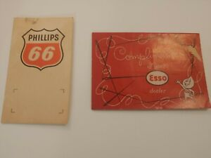 Vintage Esso And Phillips 66 Sewing Kits (Gas/Oil Advertising)