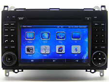 Auto Stereo Car Radio DVD Player GPS Navigation For Mercedes-Benz Vito W639 W906