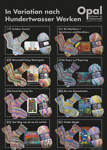 8x100 gr. Sockenwolle/Strumpfwolle Opal Hundertwasser 2