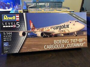 Revell Boeing 747-8F Cargolux 1:144 Plastic Model Kit