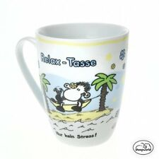Sheepworld Lieblingstassen Tasse Becher RELAX - TASSE ! Porzellan Geschenk 59237