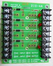New Potter & Brumfield 2i0-4a Mounting Board for Input / Output Module card