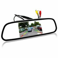 5 inch Digital Color TFT 800x480 LCD Car Parking Mirror Monitor 2 Video Inp