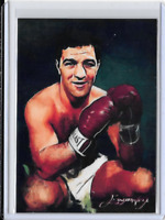 Rocky Marciano Artist Signed Limited Edition Giclee Print Art Card