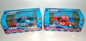 LOT ~ Racing Champions 50th Anniversary Richard Petty Cars (1:24) ~ 1981 & 1999