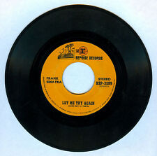 Philippines FRANK SINATRA Let Me Try Again 45 rpm Record