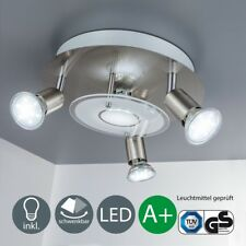 Lámpara de Techo Diseño Led Luz Techo Moderno 4 Reflector GU10 Lámparas Bombilla