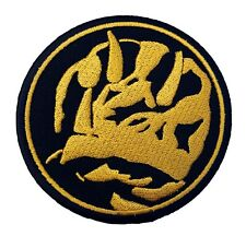 Blue Power Rangers Patch Embroidered Badge Mighty Morphin Costume Triceratops
