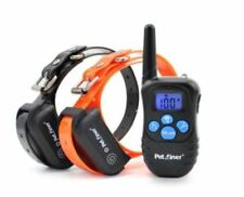 Petrainer PET998DBB Waterproof Rechargeable Dog Training Collar