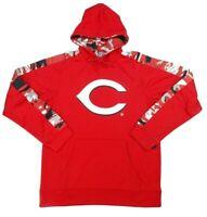 Cincinnati Reds MLB Zubaz Men's Drawstring Hoodie