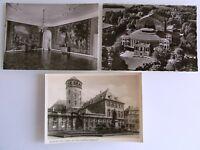 3 x BAYREUTH Bavaria Bayern ab ~1950/60 Postkarten Ansichtskarten Lot ungelaufen