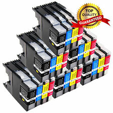 24 Hi-yield LC71 LC75 Ink Cartridges For Brother MFC-J430w MFC-J6710DW MFC-J625D