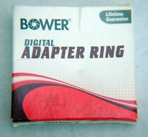 BOWER 55mm (MALE) SERIES VII -7 (FEMALE) ADAPTER RING BOXED VG USED CONDITION
