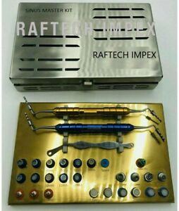 New Sinus Master Kit For Dental Surgery Surgical Instruments UK Implant DN-2241
