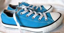 "NICE **CONVERSE** Juniors  ""All Star "" Turquoise Blue Sneakers,Sz. 2 M"