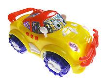 Racing Bump And Go Car Flash Lighting Music Sound Electric Toy Kids Fun Gift
