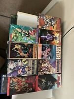 Anime VHS Tapes Lot